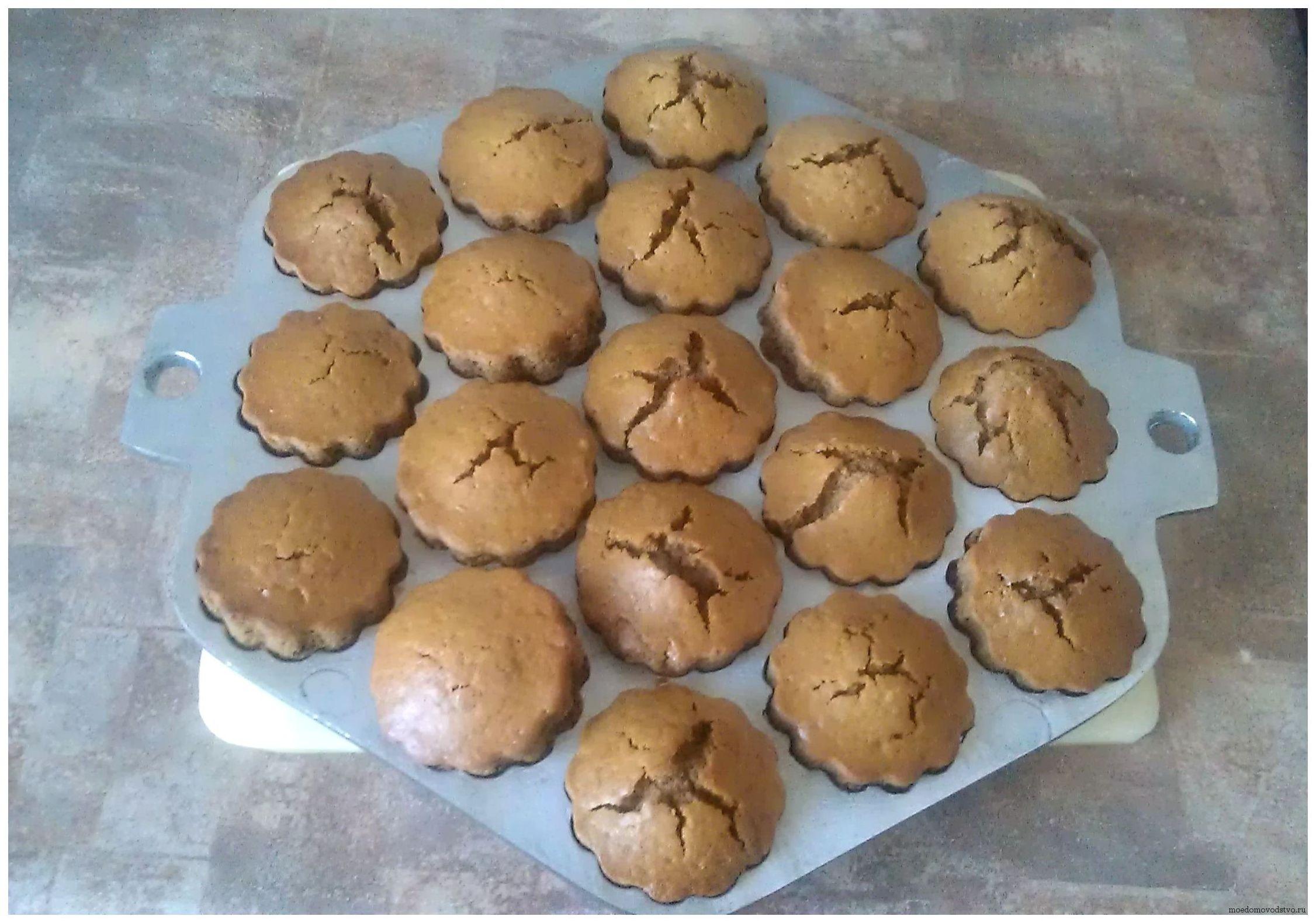 Кексы рецепты с шоколадом внутри рецепт пошагово