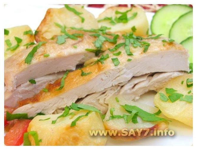 Рукав для запекания, или пакеты для запекания Курица с картофелем