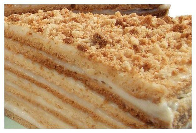 Пошаговый рецепт торта Черепаха со сметанным кремом