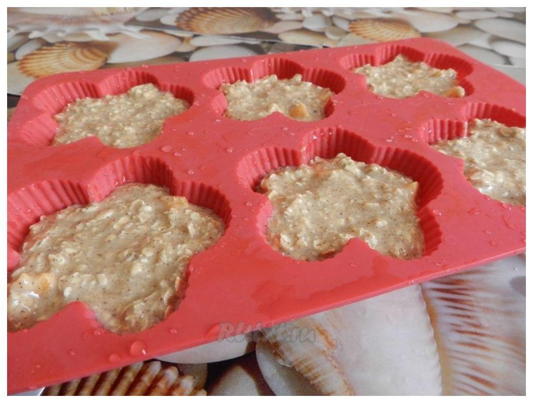 Рецепт кексов с начинкой в формочках с фото пошагово