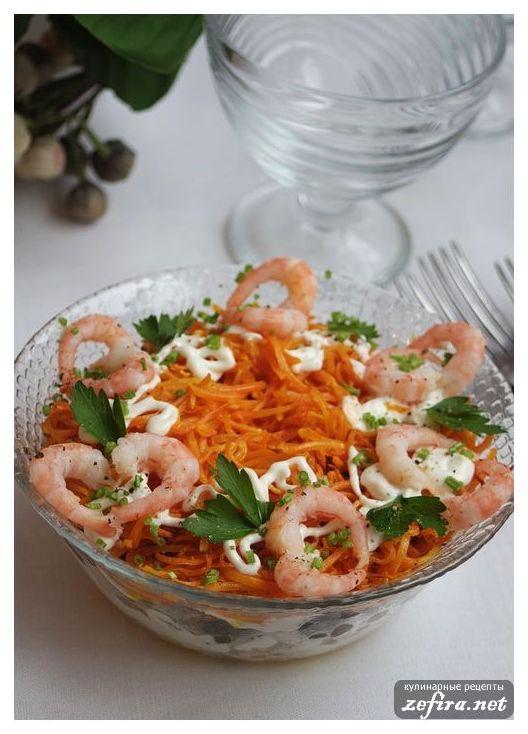 Салат с рыбой и шампиньонами рецепт