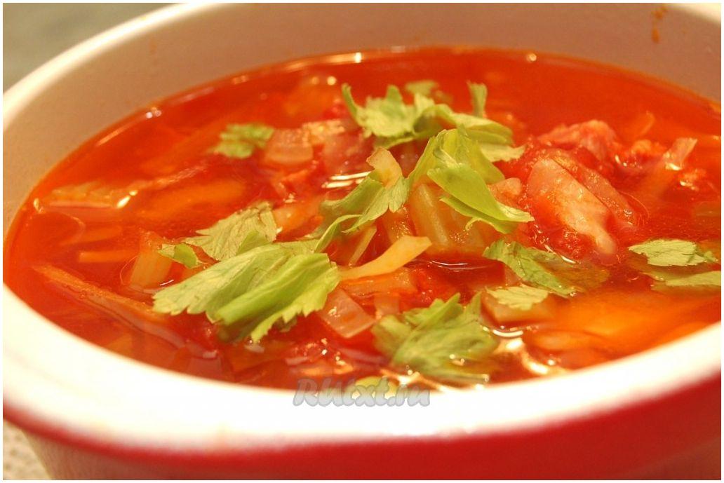 солянка со свежей капустой рецепт