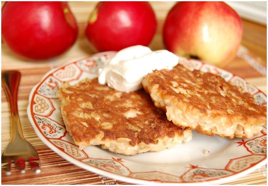 Вкусные сырники из творога и яблок рецепт пошагово