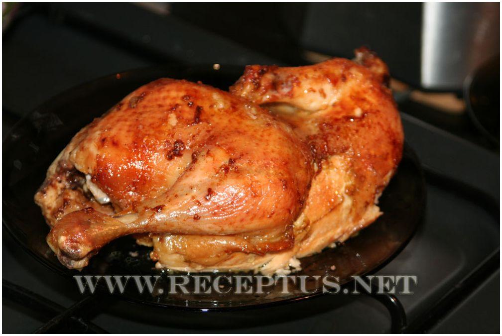 рецепт вкусной тушеной курицы в духовке