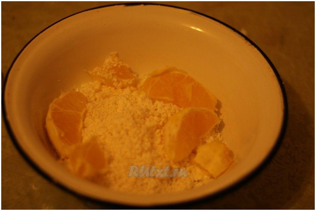Рецепт из творога и апельсинов